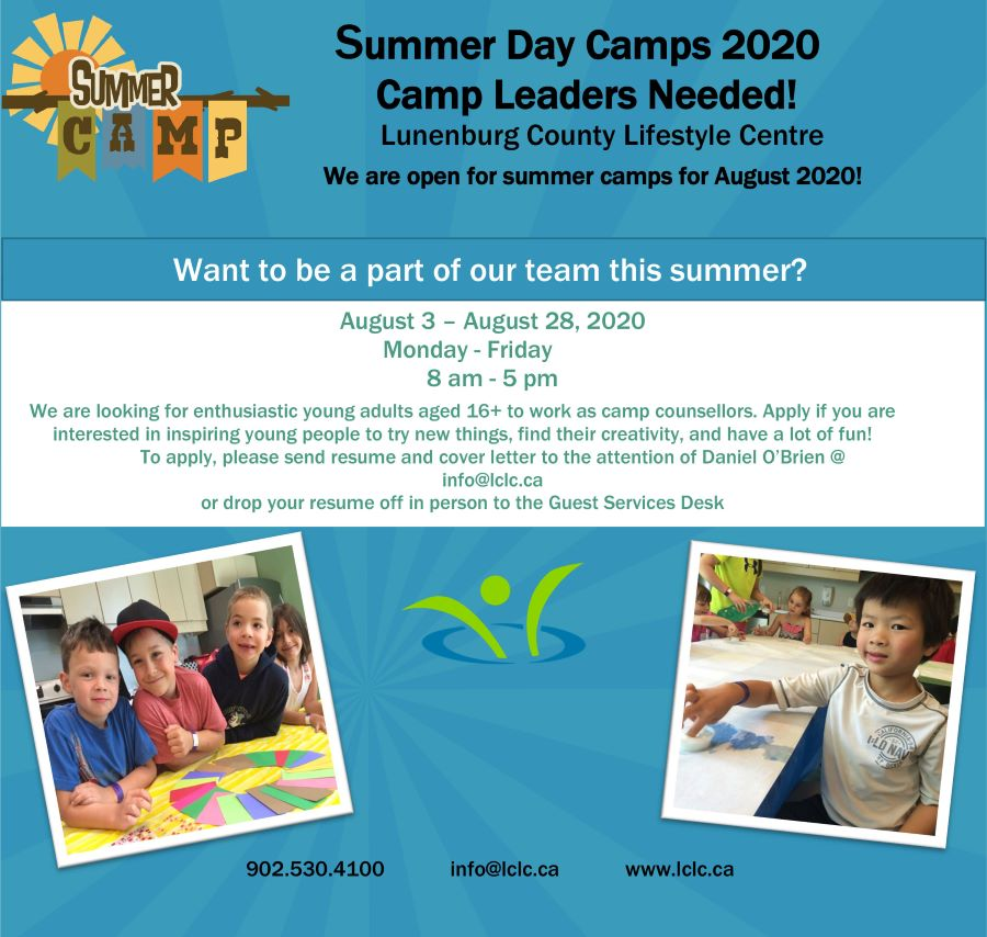 Summer camp ad for leaders 2020 web