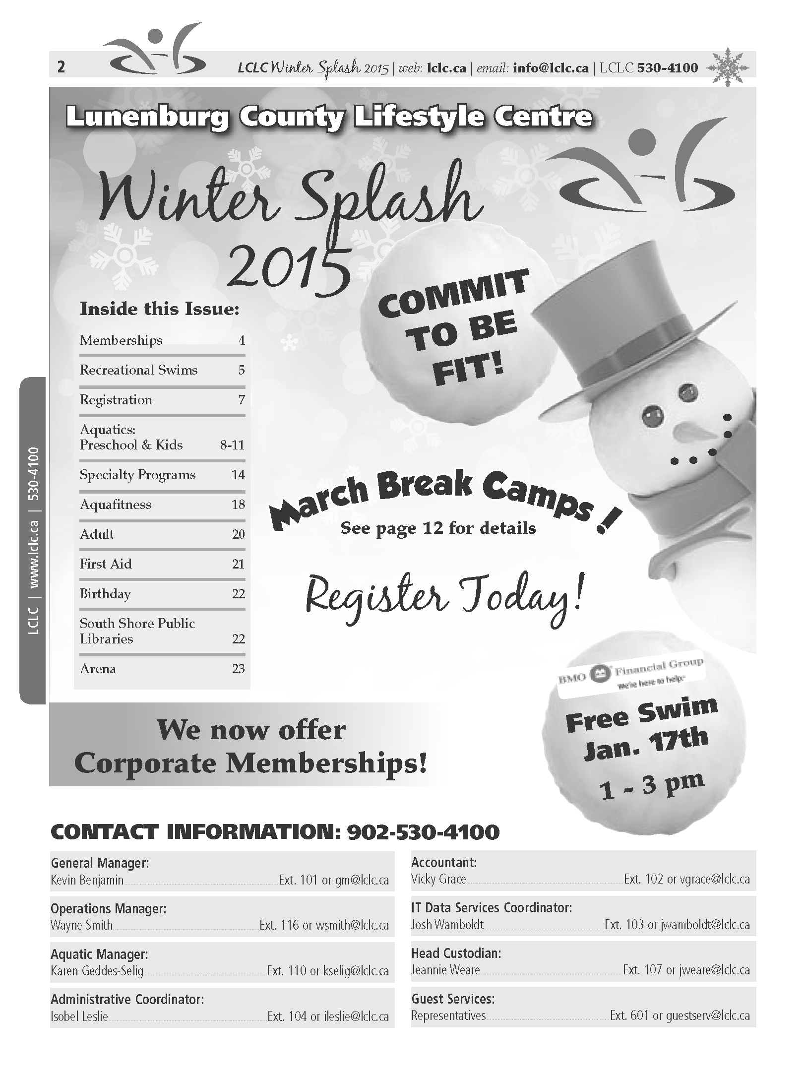 Winter Splash 2015