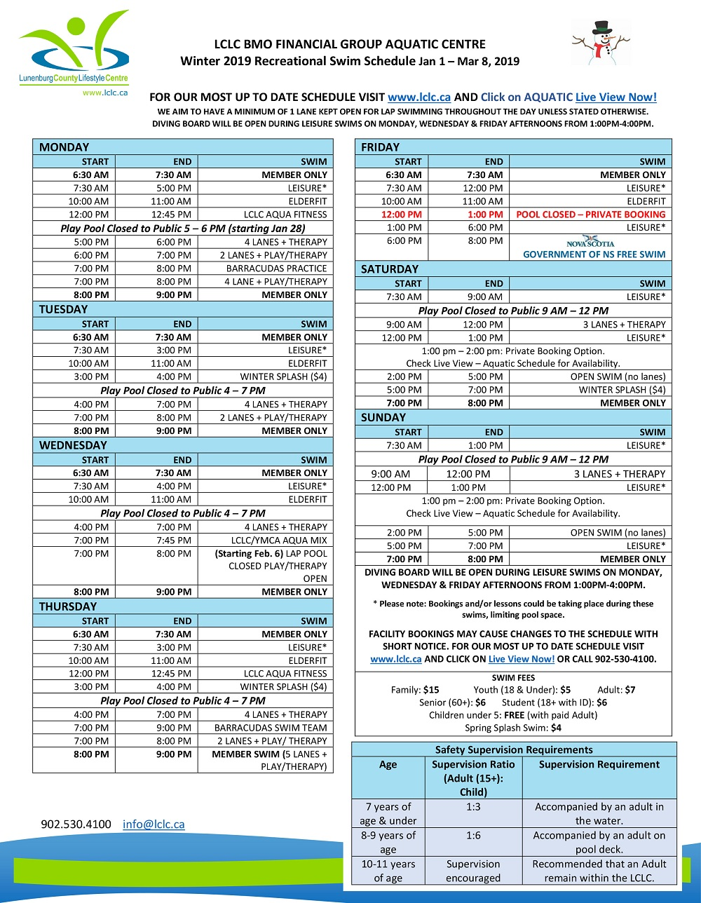 Winter Swim Schedule Jan 2019 WEB Jan.8 1