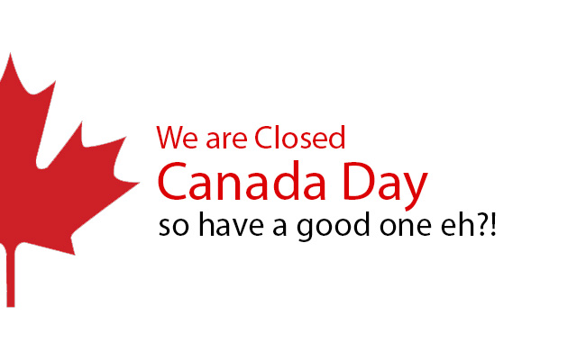 closed canada day blog
