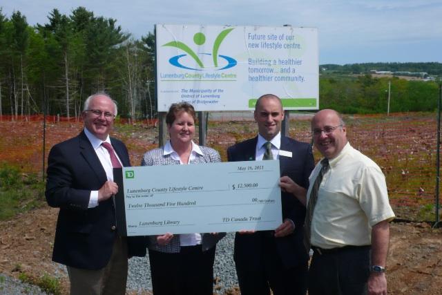 Lunenburg County Lifestyle Centre - TD Canada Trust Helping